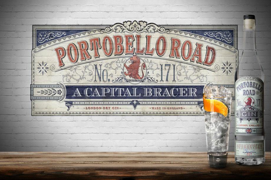 PORTOBELLO ROAD GIN NO. 171 - Egy kis Gin történelem