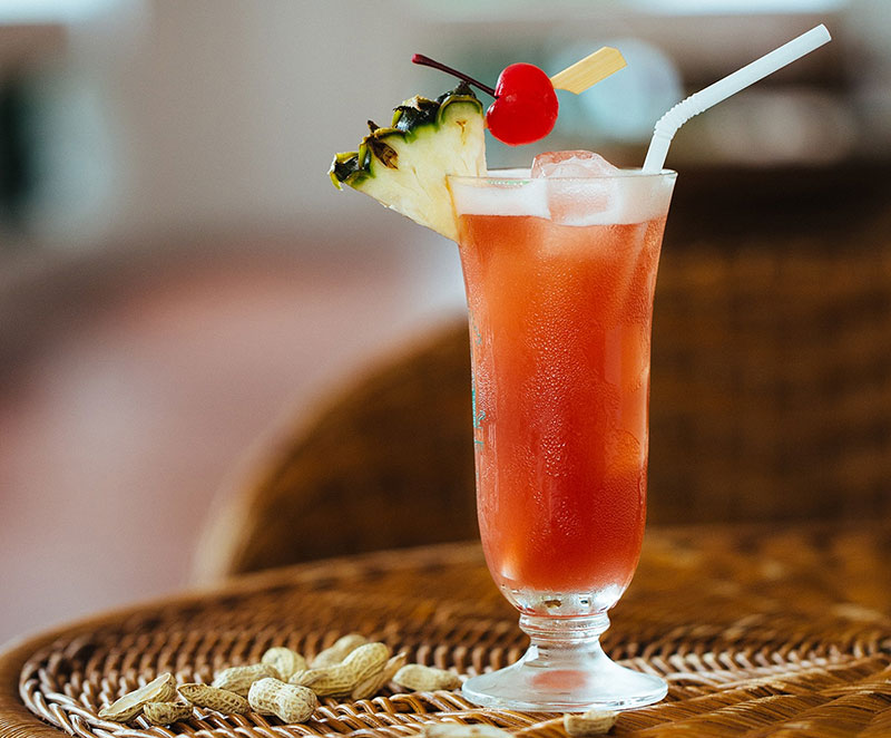 Singapore Sling koktél - Történet és recept