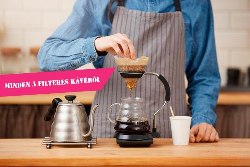 Filteres kávé: minden amit tudnod kell róla